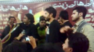 Asghar Khan Reciting 2011 Album Noha Samajh Kay Zehra(s.a) (Hala 2010)
