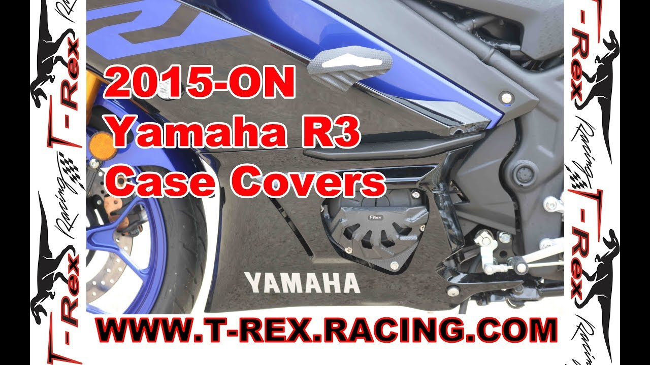 T-Rex Racing 2015-On Yamaha R3 Case Covers