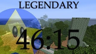 Minecraft Speedrun: LEGENDARY (46:15) [World Record]