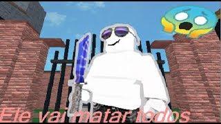 ROBLOX-ELE VAI MATAR TODOS!!! -MURDER MYSTERY 2 🎮