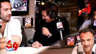 Guillaume Canet et Gilles Lellouche - Anecdote avec Christian Clavier - Le 6/9 NRJ