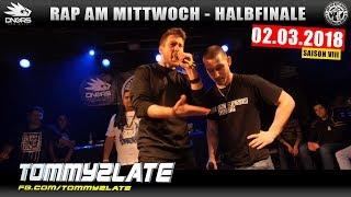 RAP AM MITTWOCH NÜRNBERG: 02.03.18 Halbfinale feat. TOMMY2LATE, GUSY, TRIPLEBEAT uvm. (3/4)