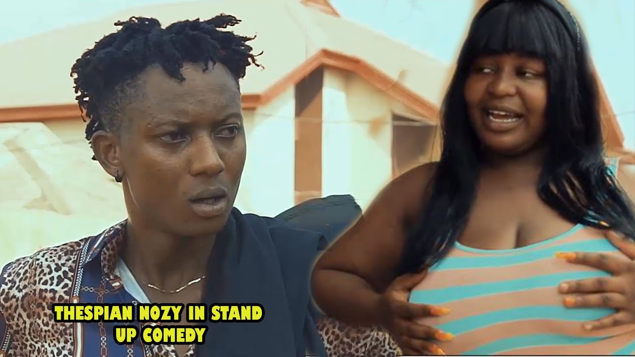 Download THESPIAN NOZY IN STAND UP COMEDY || REAL HOUSE OF COMEDY ft OGAFLEX COMEDY