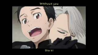 Yuri!! on Ice | Without you | AMV [Victuuri]
