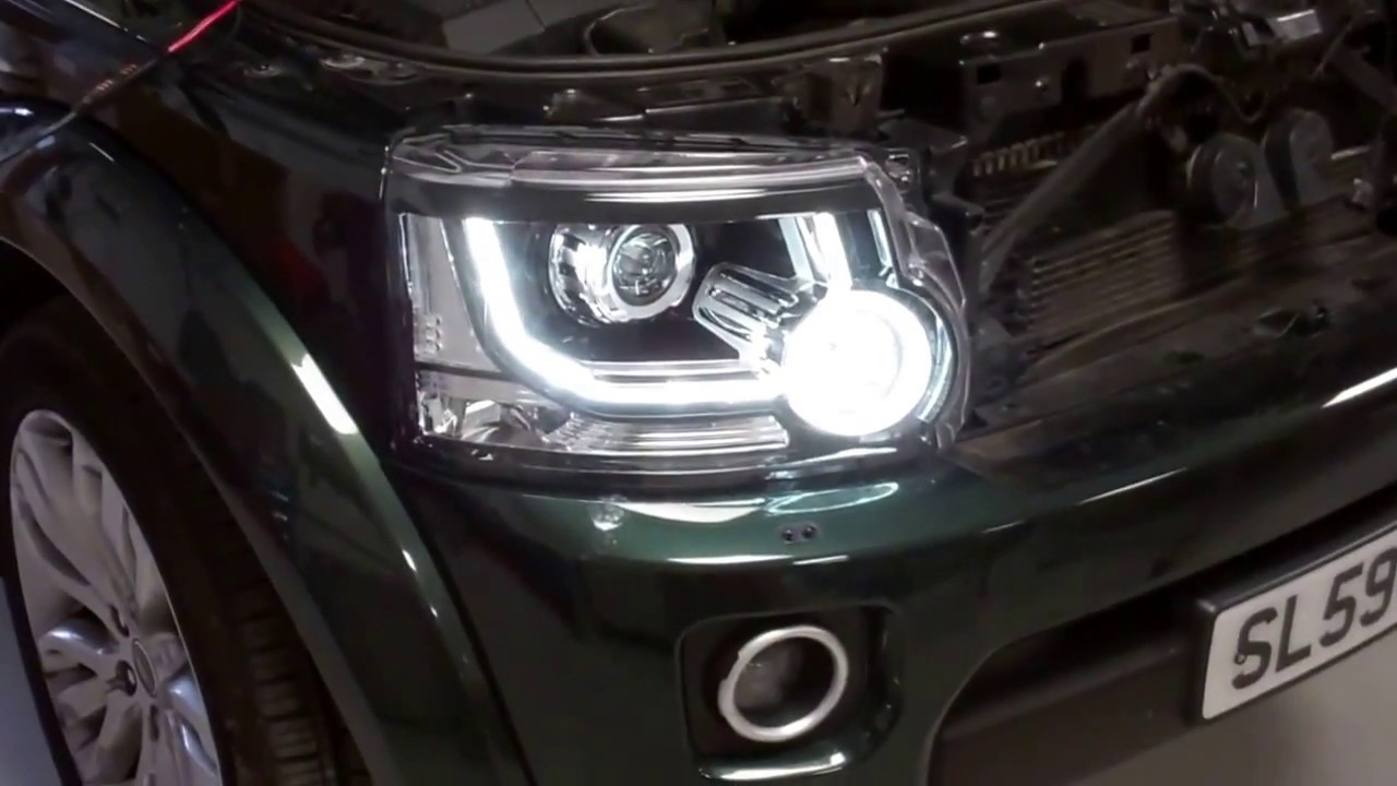 activating the headlamp drl function with iid tool on land rover photos for land rover discovery 2 facelift light headlight wiring [ 1280 x 720 Pixel ]