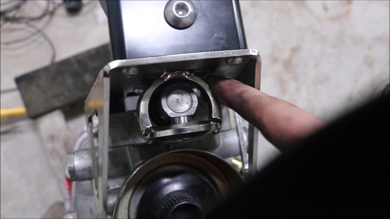 cd009 bellhousing removal and serialnine cd999 shifter relocation install