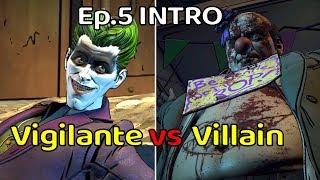 Vigilante vs Villain Joker Intro - Episode 5 - The Enemy Within Same Stitch
