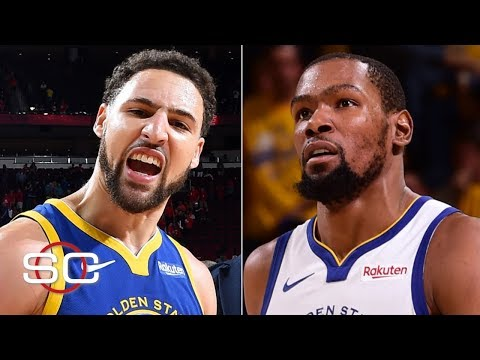 will-kevin-durant-affect-klay-thompson's-decision-to-stay-with-the-warriors?-|-sportscenter