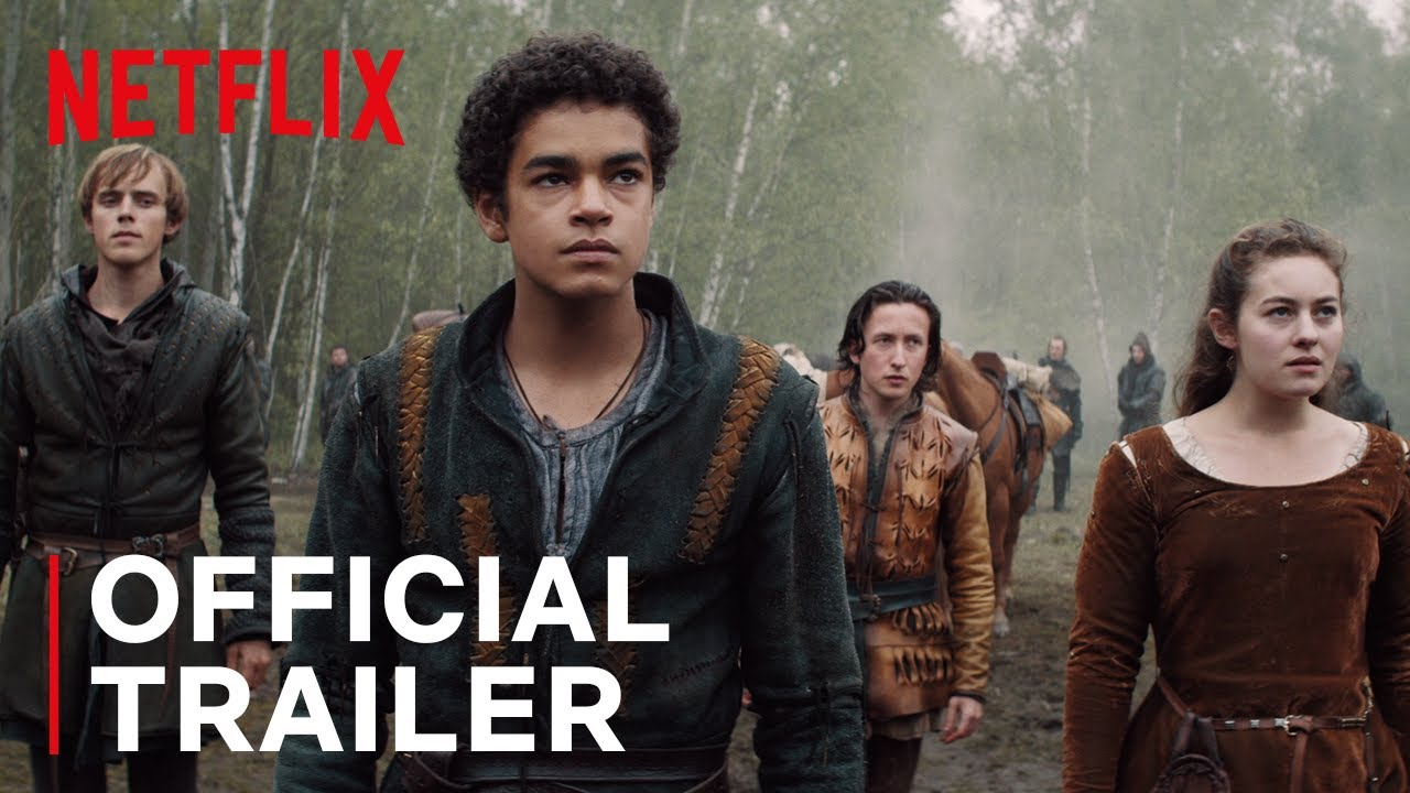 The Letter For The King Official Trailer Netflix Youtube