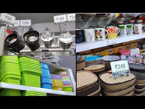 Vishal Mega Mart Tour & Offers for kitchen Organization || with price|| offer 99 ₹