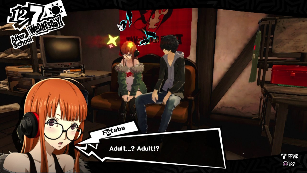 Persona 5 Let S Go To My Room Futaba Sakura Youtube