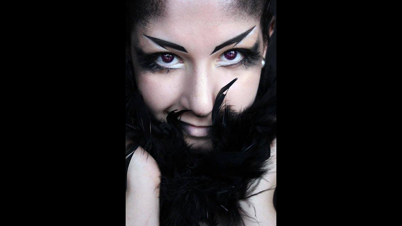 Queen Crow Makeup!