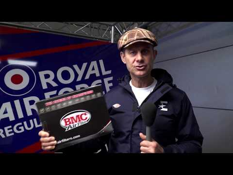 COTTON AIR FILTER BMC HONDA DYLAN 150 2006-2008 vidéo