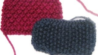 DROPS Knitting Tutorial: How to avoid a jog at the beginning in circular knitting
