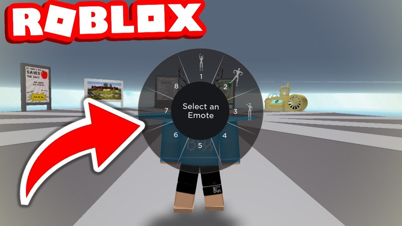 New Emote Wheel Added To Roblox Youtube