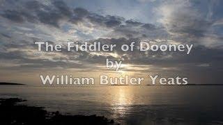 """The Fiddler of Dooney""-WB Yeats-Irish Poetry-Famous Poem-Poetry Reading-Beautiful Verse Poetry"