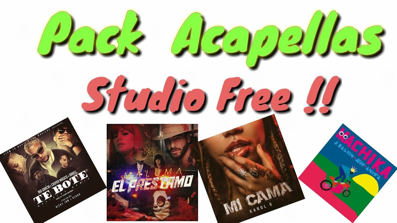 DESCARGAR PACK DE ACAPELLAS PARA DJS | 2018 | GRATIS