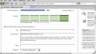 How To Register A Youtube Account & Upload A Video
