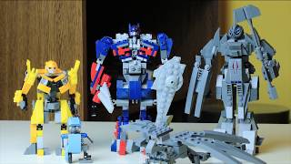 How to make LEGO Transformers : The Last Knight - Optimus Prime, Bumblebee and more!
