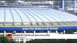 Kezdetét vette az oroszországi labdarúgó világbajnokság