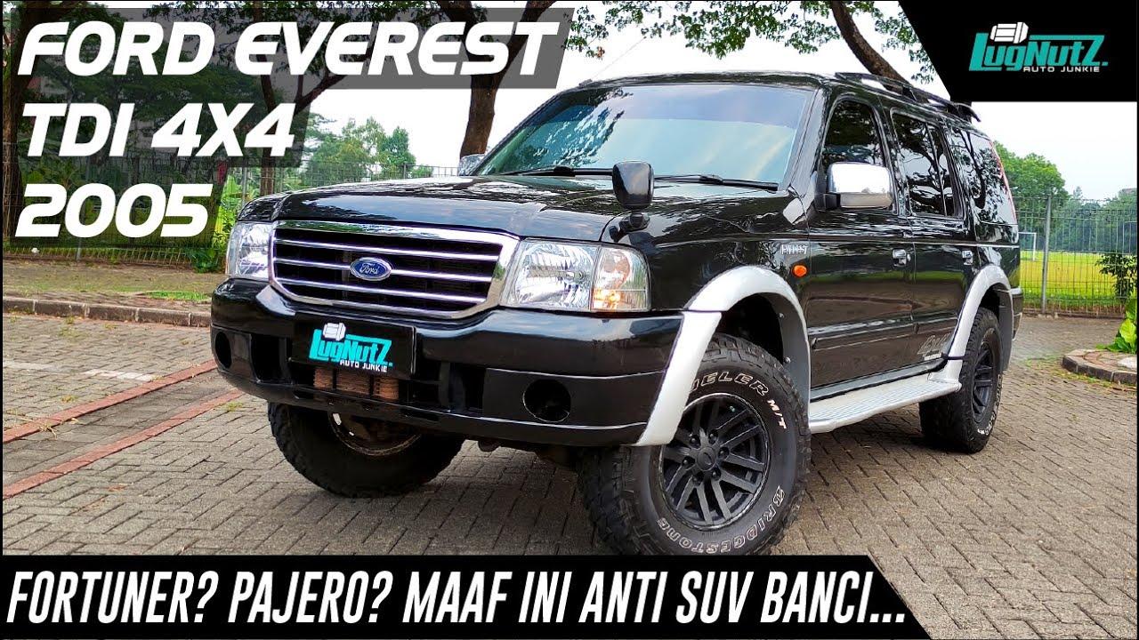 Fortuner & Pajero Langsung Ciut Kalah Laki Ama Ford Everest 4x4 Sangar Ini!