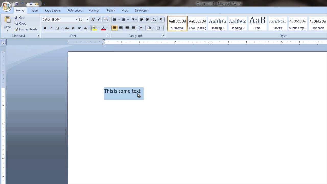How to Underline in Microsoft Word Using the Keyboard : Tech Vice