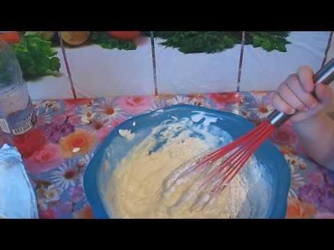 Вкусные Оладьи на сметане!Как приготовить оладьи!