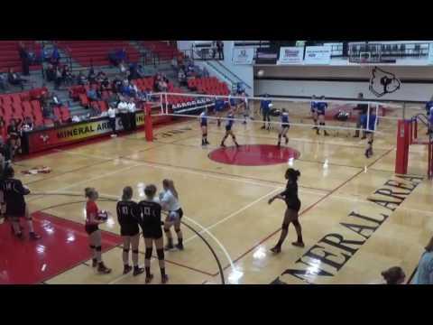 Volleyball District K Championship - Mineral Area College vs. John A. Logan College