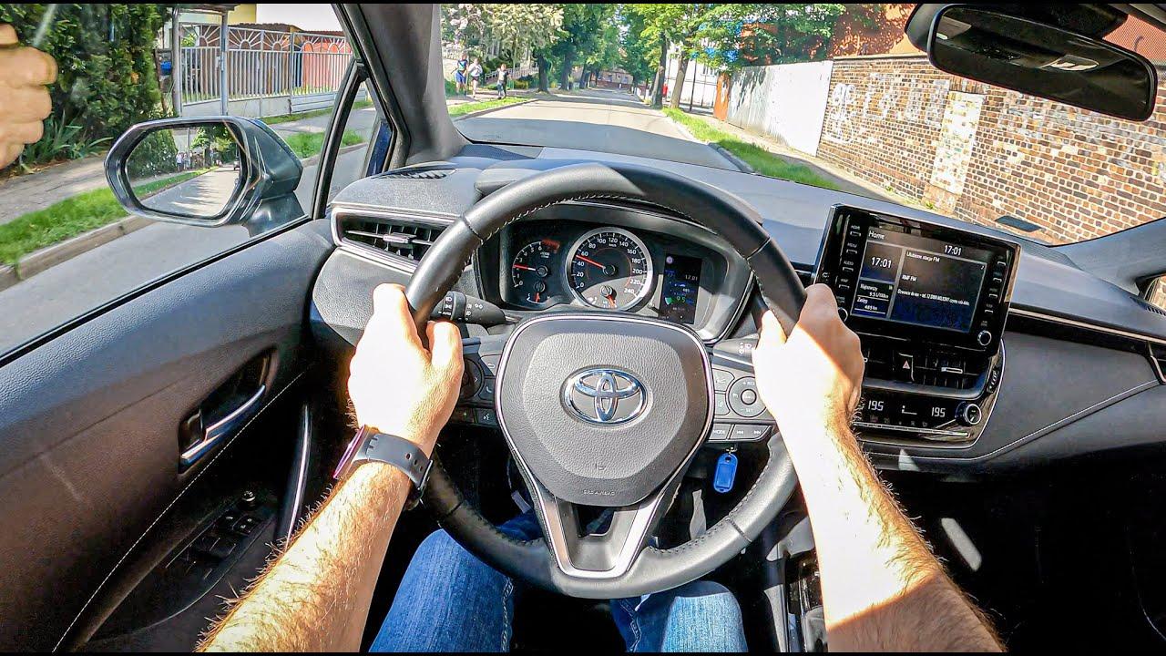 Toyota Corolla [1.2 116HP]   POV Test Drive #808 Joe Black