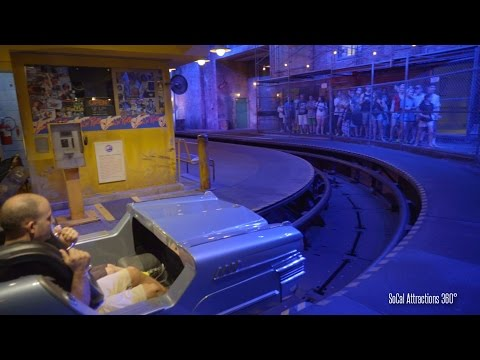 [4K] Rock n Roller Coaster Front Row POV - High Speed Indoor Coaster - Disney's Hollywood Studios