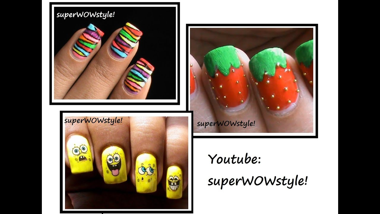 3 nail designs for kids kids nail art ideas youtube prinsesfo Image collections