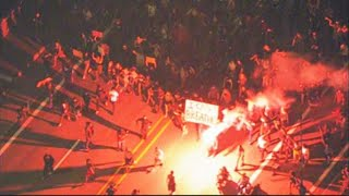 Fires, vandalism in downtown Portland as George Floyd demonstration turns into riot