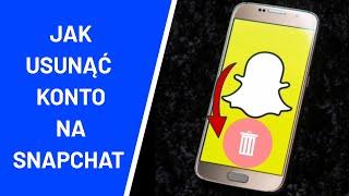 Jak usunąć konto na Snapchat ?