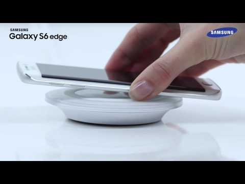 samsung galaxy s6 edge kabelloses laden wireless charging pad how to video youtube. Black Bedroom Furniture Sets. Home Design Ideas