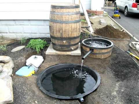 Whiskey Barrel Garden Parts Part 1 Youtube