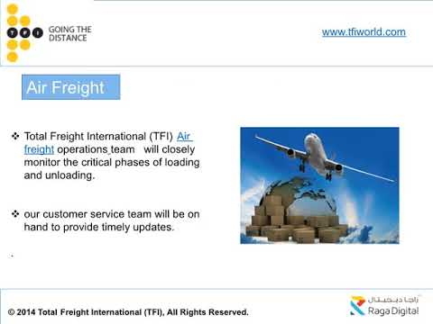 Air Freight Shipping Company Dubai