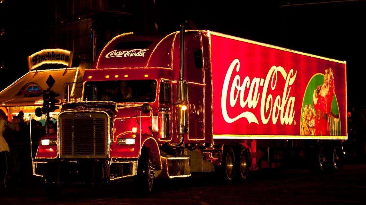 Coca Cola Weihnachtstruck Tour Parade Christmas Coke Trucks 2010