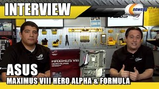 ASUS ROG MAXIMUS VIII HERO ALPHA & FORMULA Z170 Motherboard Interview - Newegg TV