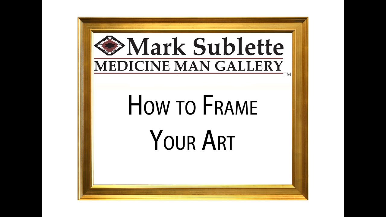 Painting frames: What are the Best Frames to Use for Your Artwork ...