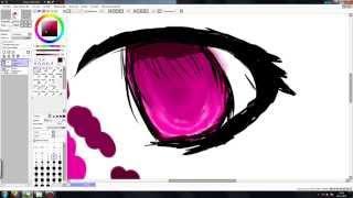 Как рисовать аниме глаз в Paint Tool Sai!(Где меня можно найти! https://vk.com/id167894541 Группа в вк- http://vk.com/club117758277 Мой Skype vita-7273 ..., 2015-11-26T15:12:27.000Z)