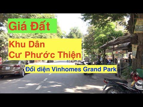 Giá Đất Nền Khu Dân Cư Phước Thiện Đối Diện Vinhomes Grand Park quận 9