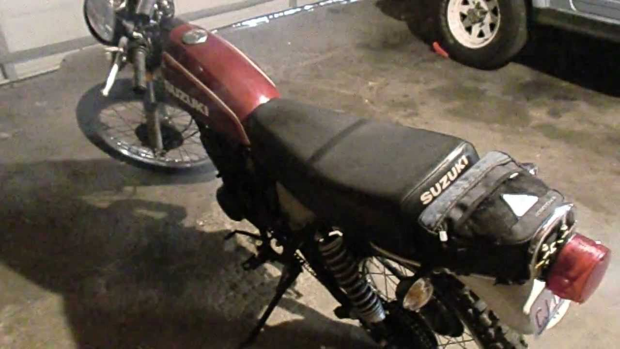 1978 Suzuki Ts250 Ts 250 Two Stroke Updated To 12 Volts