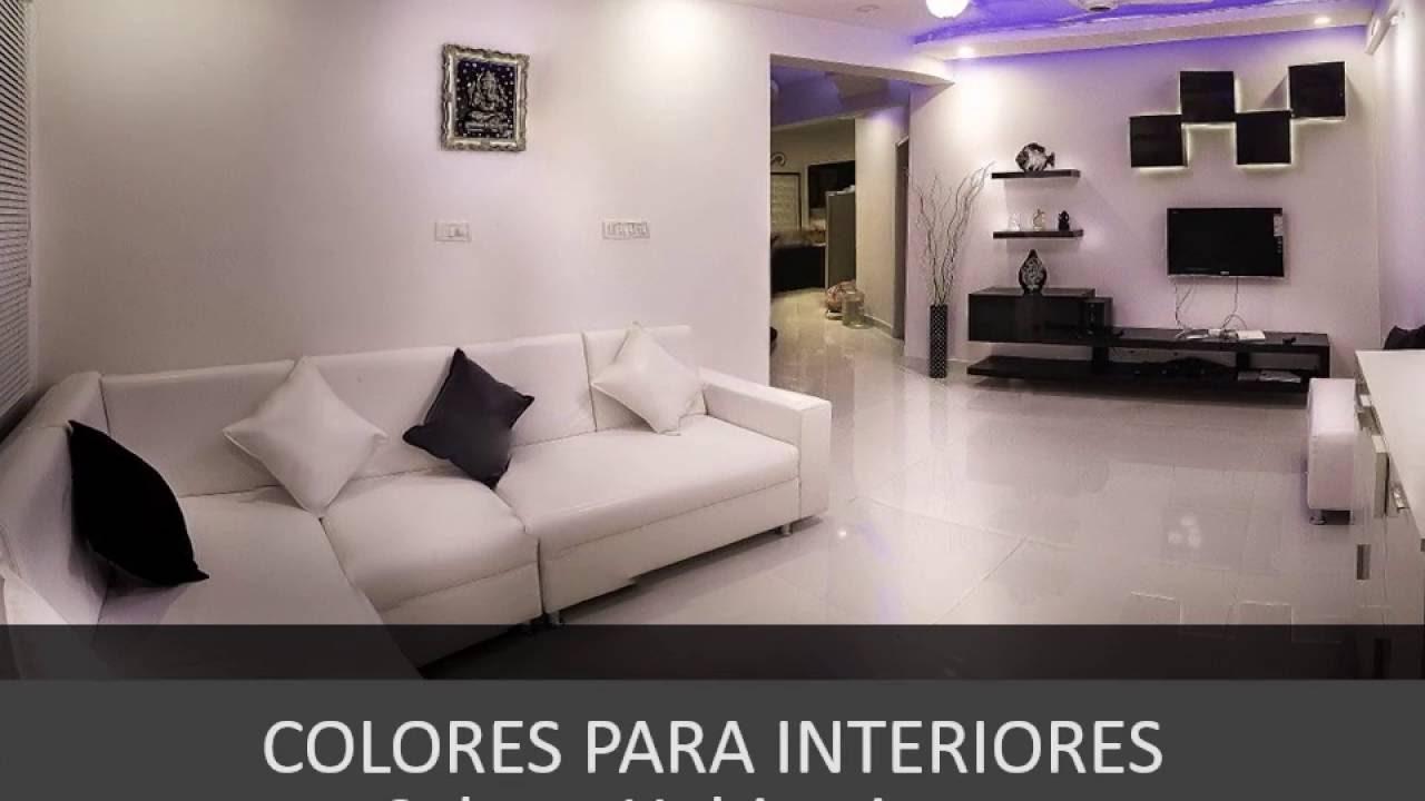 Uso de colores Colores y decoracin de interiores para