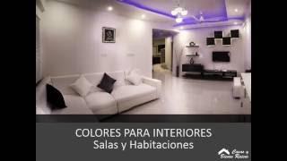 colores casas interiores para pequenas