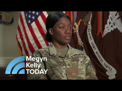 "Bobby Bones - TMSG: Soldier Loses Ear And Docs ""Grow"" New One On Her Arm"