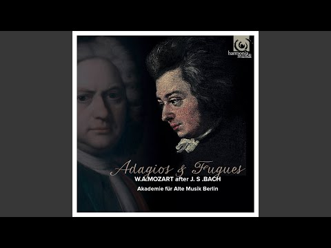Adagio & Fugue In D Minor, After J.S. Bach, BWV 849 (The Well-Tempered Clavier, Book I)