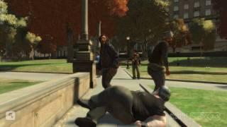 GTA IV - DRUNK Annoying FAT MAN (Ragdoll)