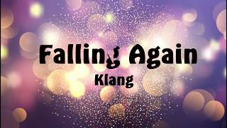 Cover images Falling again- Klang lyrics