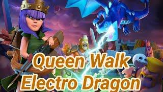 Queen walk into electro dragon   TH12   3 Star War Attack   balloon's   clashofclans 2018 COC