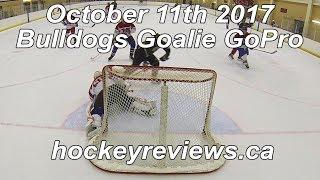 October 11th 2017 Bulldogs Hockey Goalie GoPro